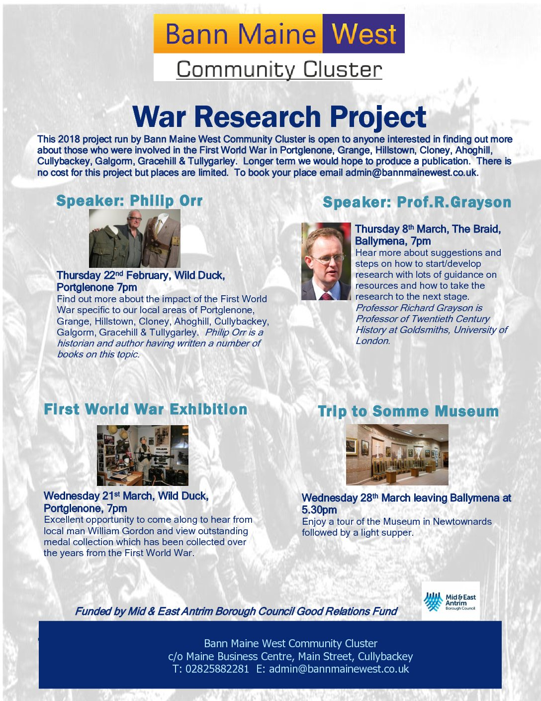 War Research Project